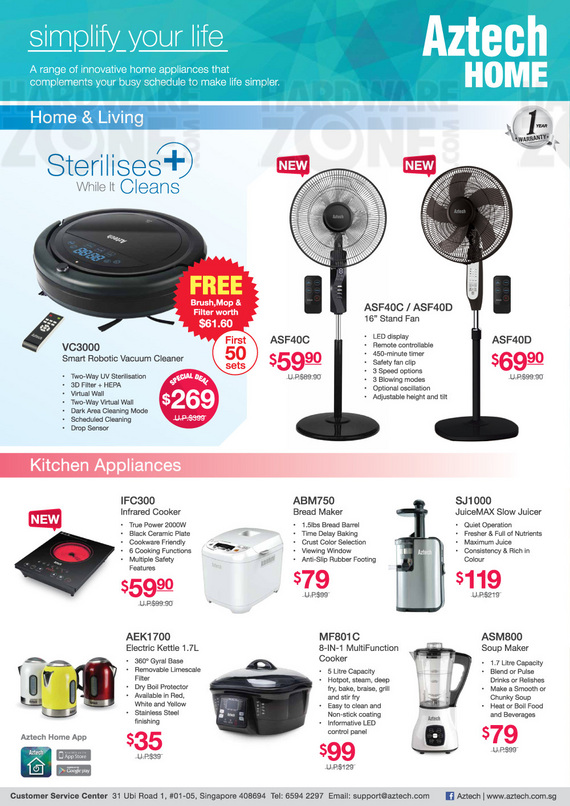 Aztech Home Appliances