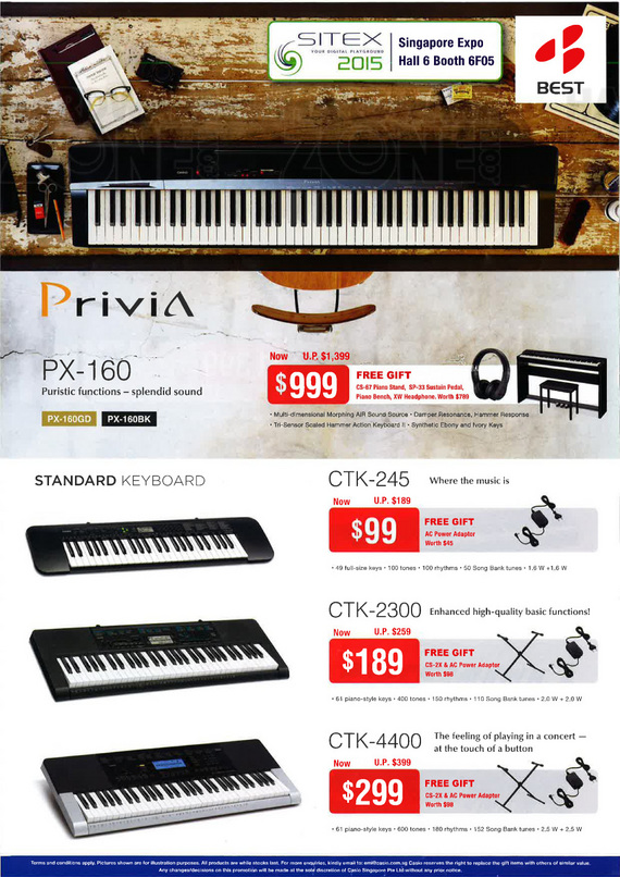 Casio keyboards - page 2
