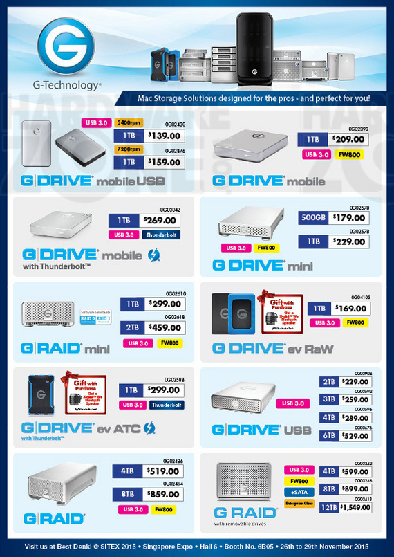 G-Tech storage - pg.1