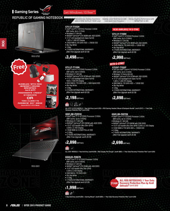 ASUS Product Guide - Pg 8