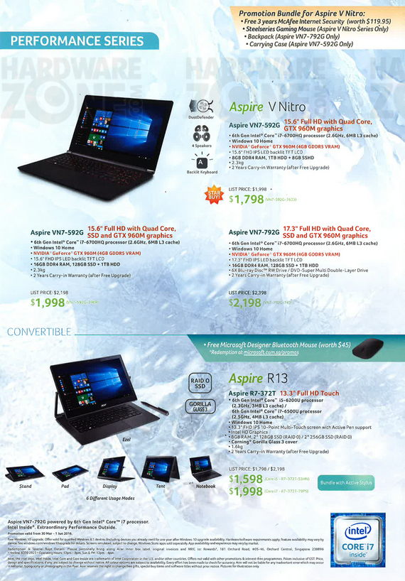 Acer notebooks - page 4