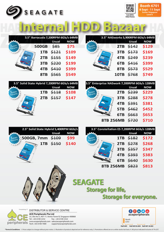 Seagate - Internal HDDs