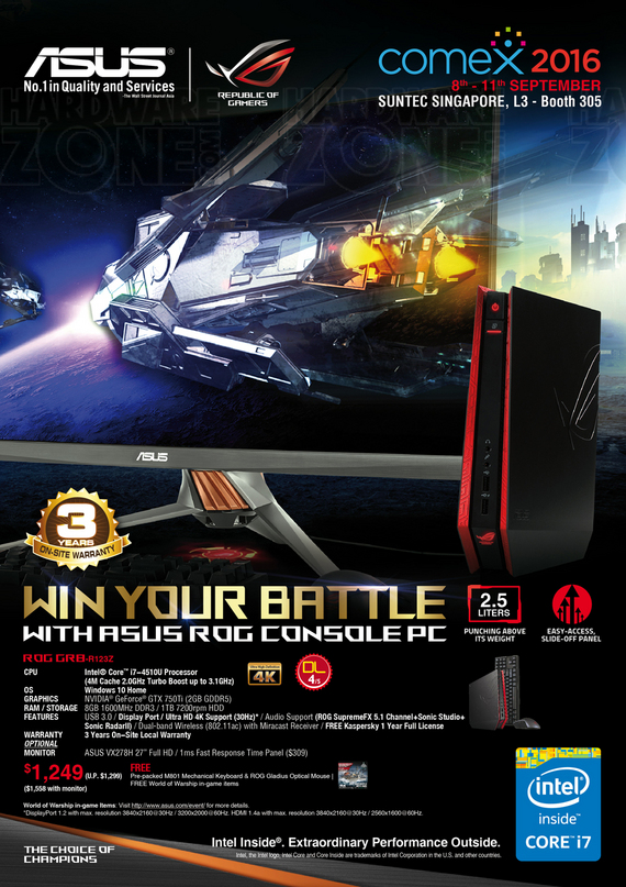 ASUS Console & Mini PCs - Pg 1