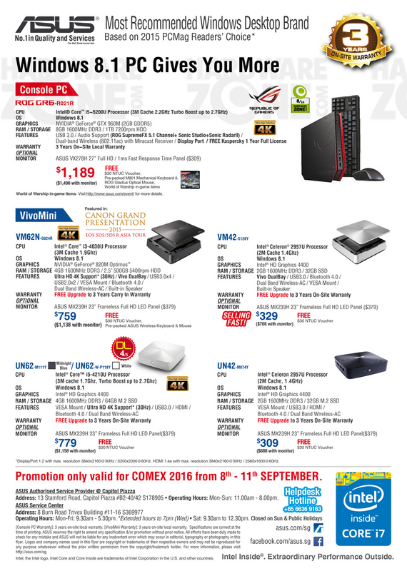 ASUS Console & Mini PCs - Pg 4