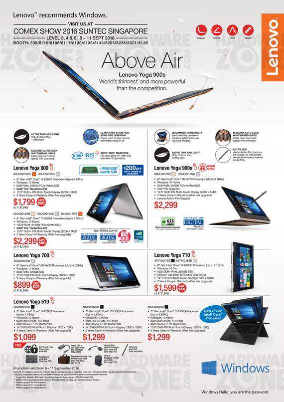 Lenovo IdeaCentre and Yoga - Pg 4