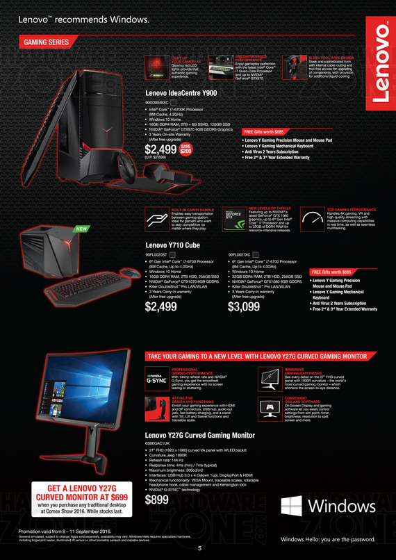 Lenovo Gaming IdeaPad & IdeaCentre - Pg 2