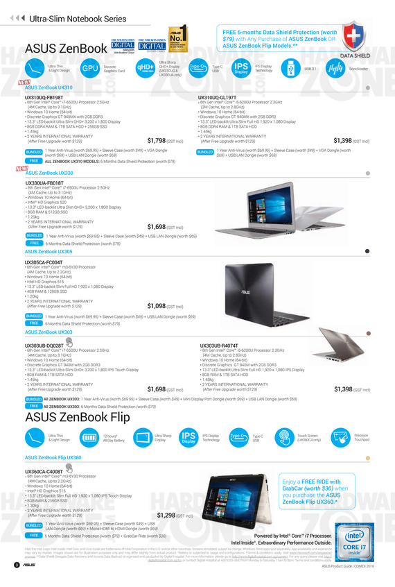 ASUS Product Guide - Pg 3