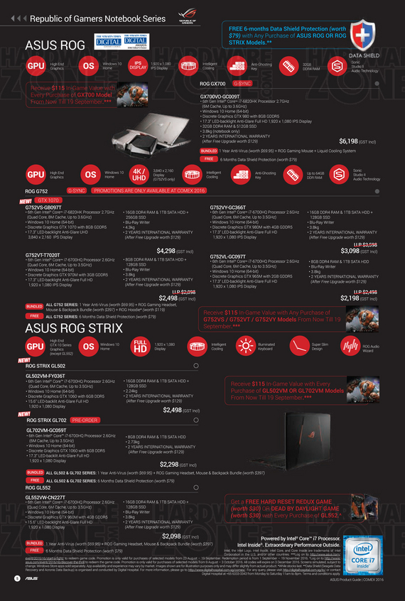 ASUS Product Guide - Pg 5