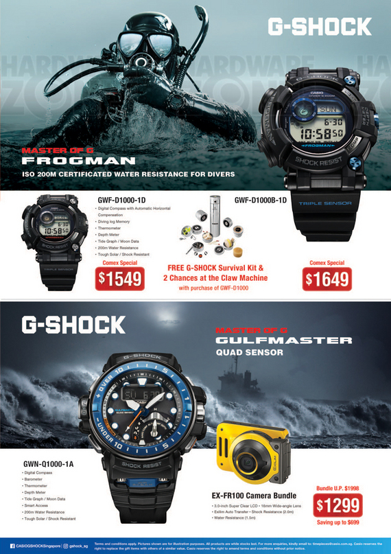 Casio G-Shock - Pg 1