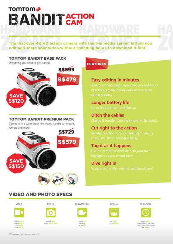 TomTom Action Cam