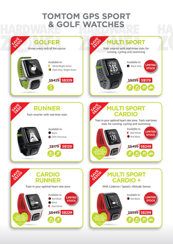 TomTom GPS & Sport Watches