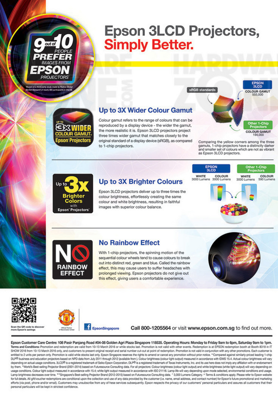 Epson Projectors - Pg 3