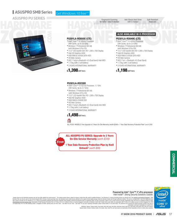 ASUS business notebooks - page 2