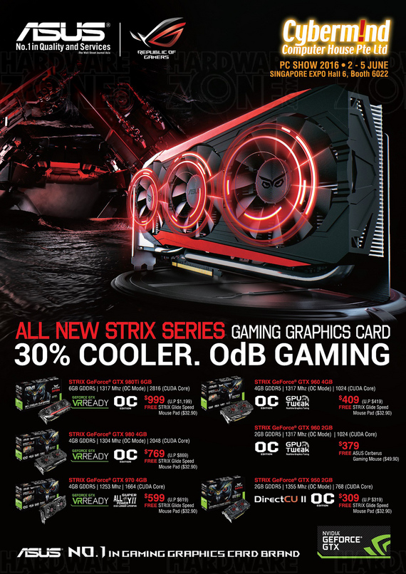 ASUS Graphics Cards - Pg 1