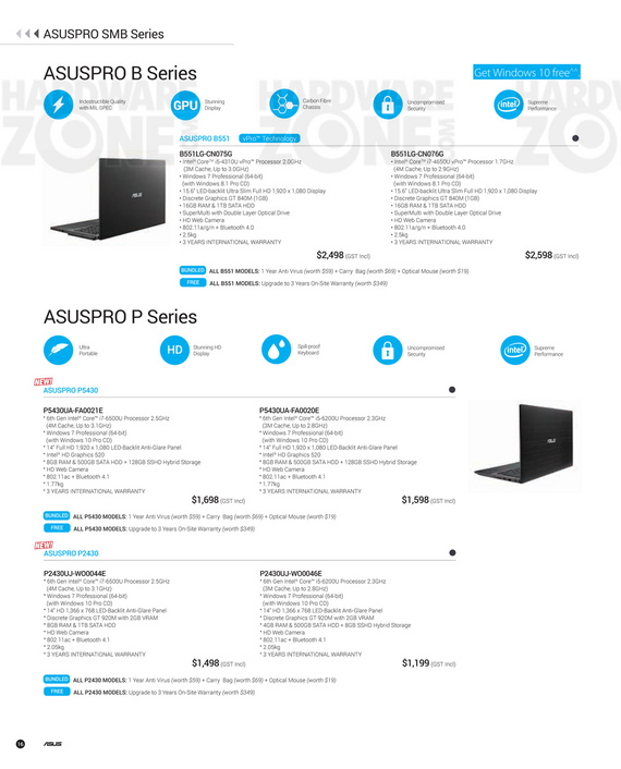 ASUS Product Guide - Pg 16