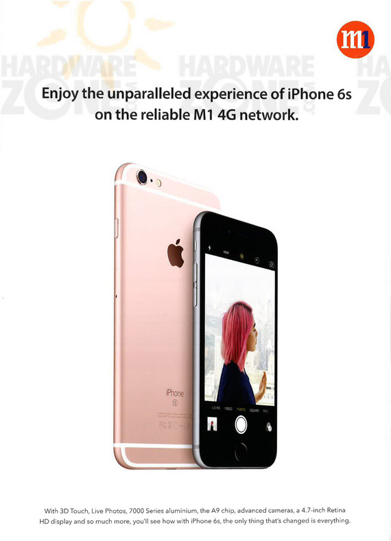 M1 iPhone 6s page 1