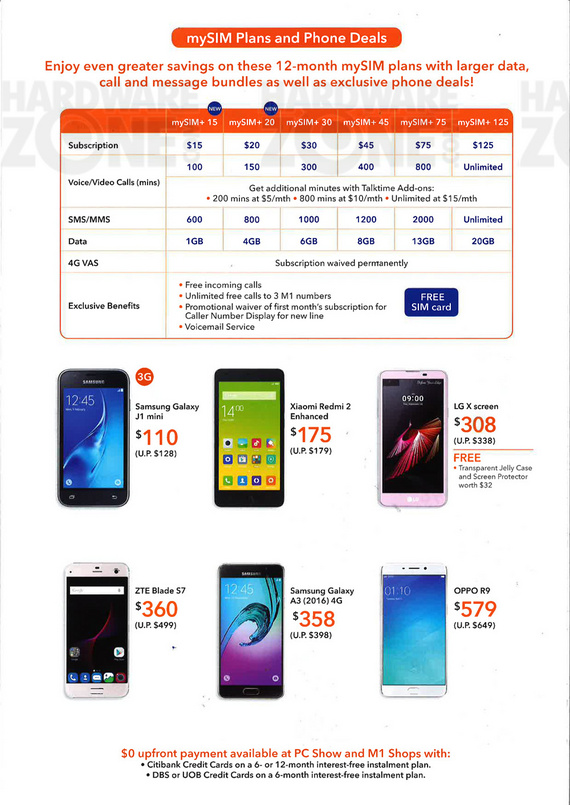 M1 mobile page 2