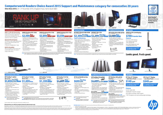 HP Desktops & Notebooks - Pg 2