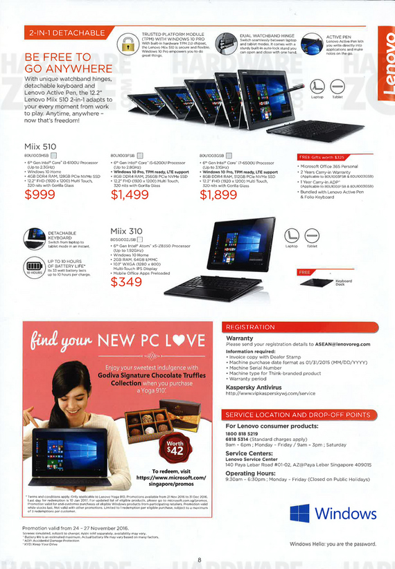 Lenovo IdeaCentre, Miix and Yoga - 2