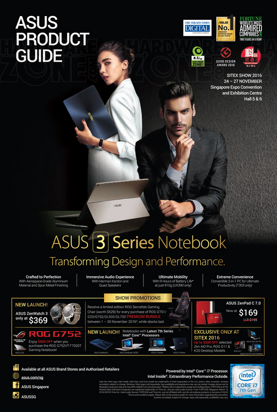 ASUS Sitex Product Guide - Pg 01