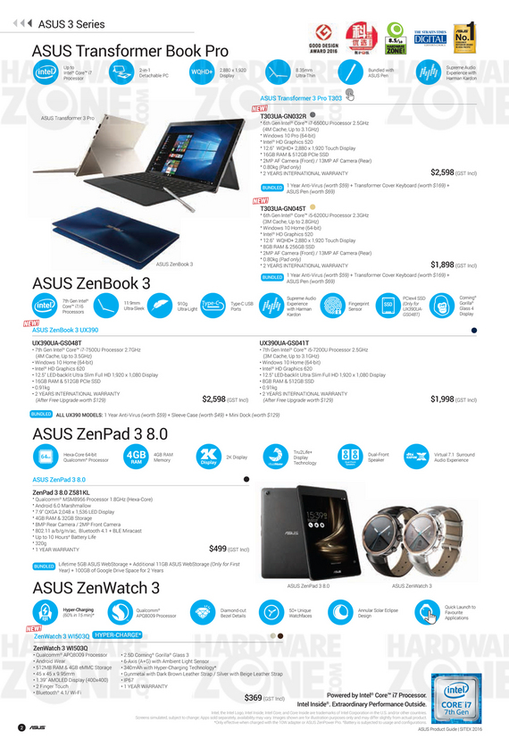ASUS Sitex Product Guide - Pg 02