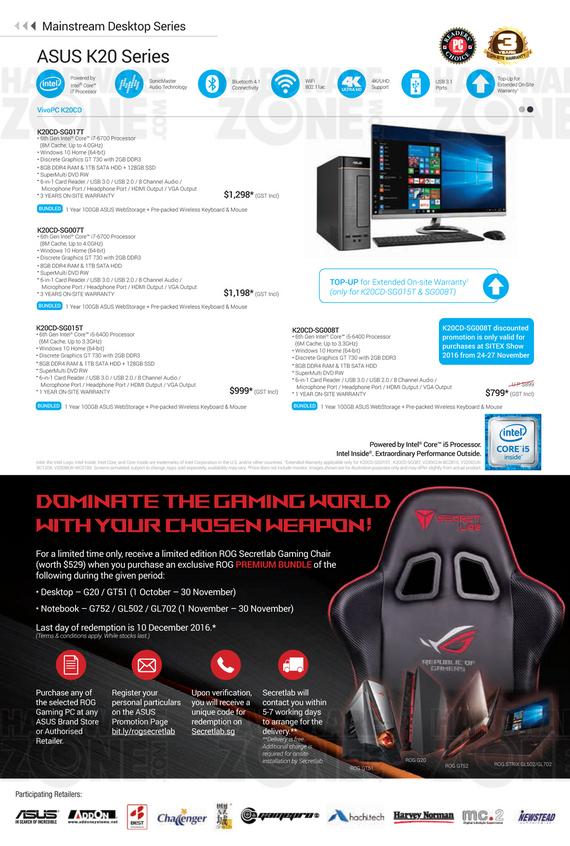 ASUS Sitex Product Guide - Pg 07