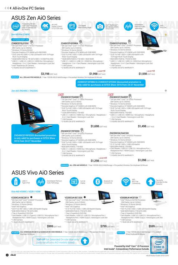 ASUS Sitex Product Guide - Pg 08