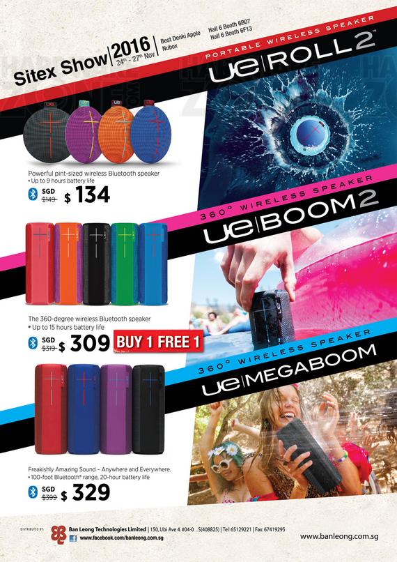 UE Speakers