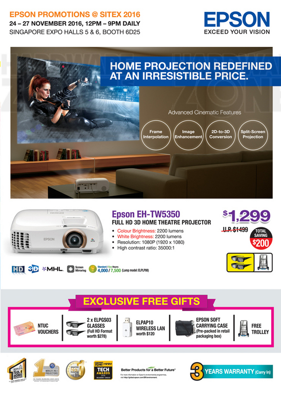 Epson Projectors - Pg 1