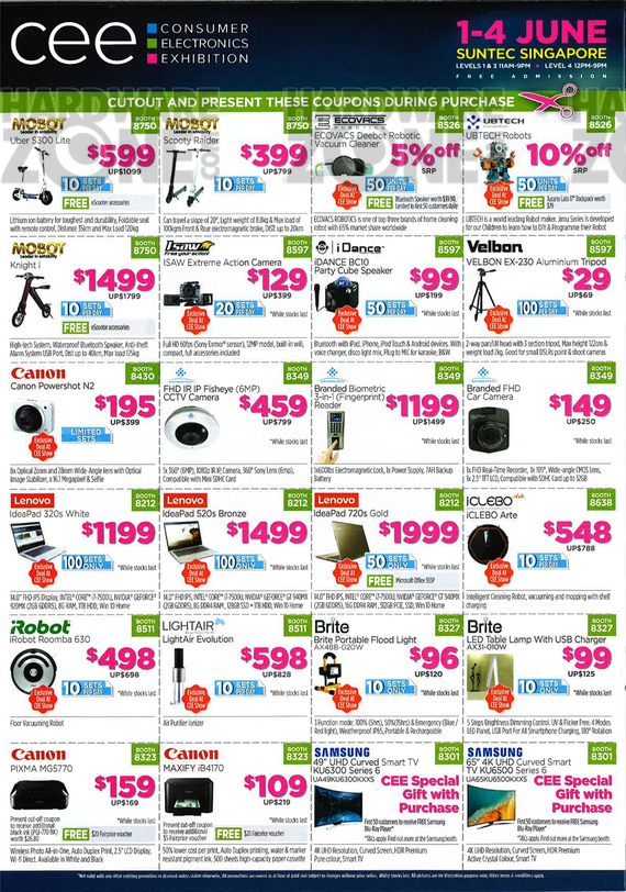 CEE Coupons - Pg 1