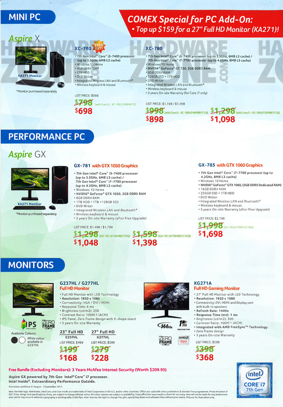 Acer Product Guide - Pg 8