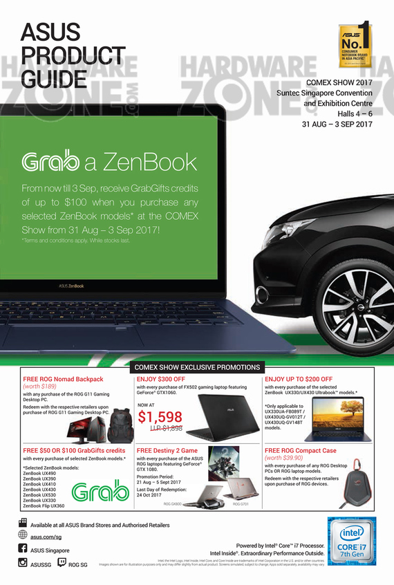 ASUS Notebooks - Pg 1