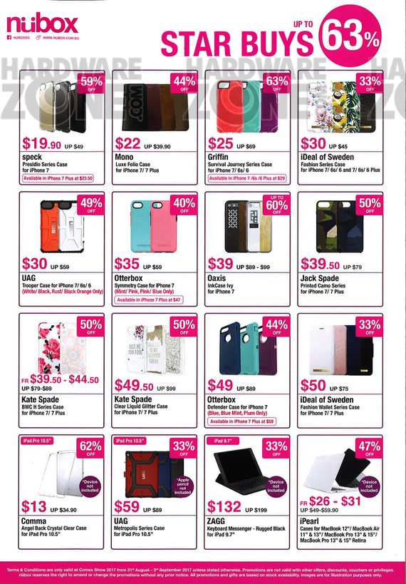 Apple iPhone accessories (Nubox) - page 1