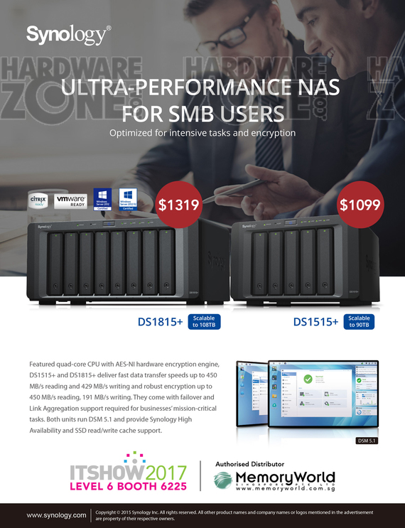 Synology DS1815+ / DS1515+