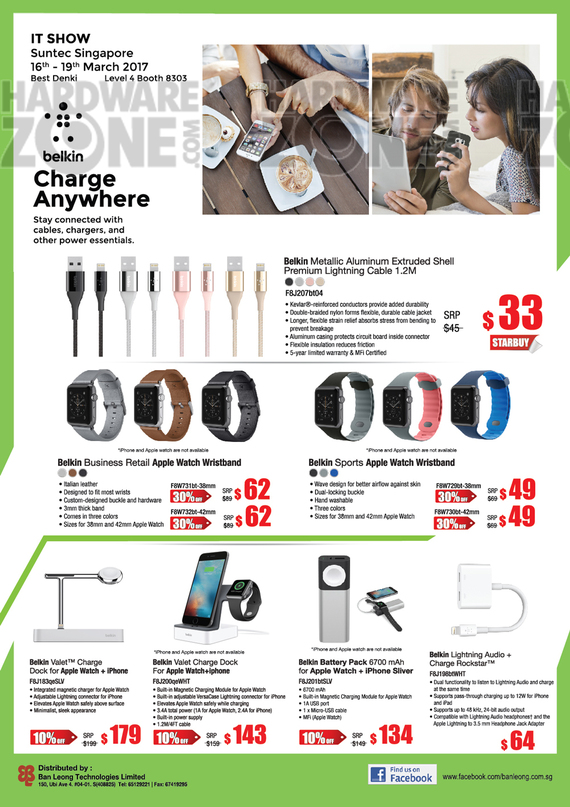Belkin Mobile Accessories - Pg 1