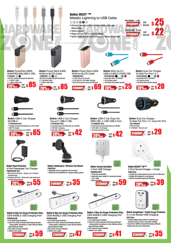 Belkin Mobile Accessories - Pg 4