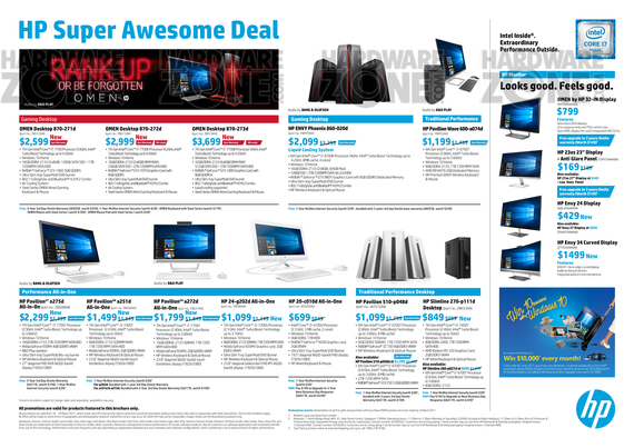 HP PCs & Notebooks - Pg 2