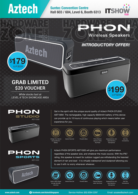 Aztech Phon Speakers