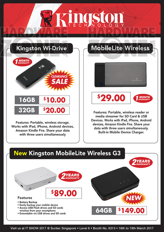 Kingston WiDrive / MobileLite