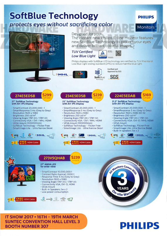 Philips Monitors - page 1