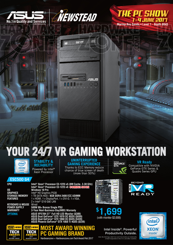 ASUS VR Workstation - Pg 1