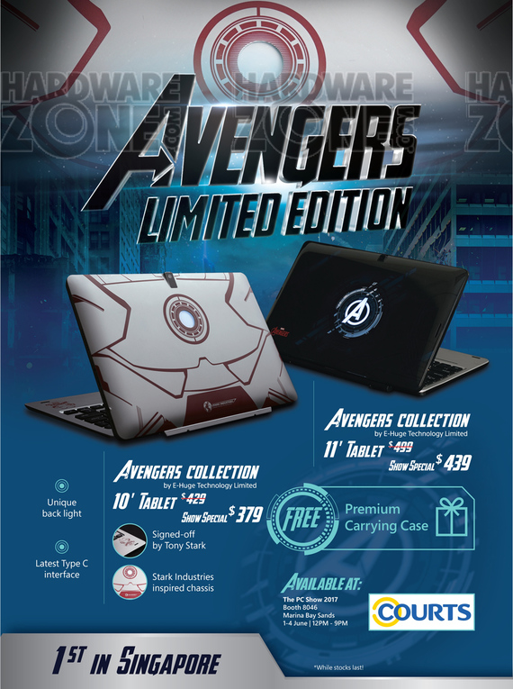 WMP Avengers 2-in-1 Tablet - Pg 1