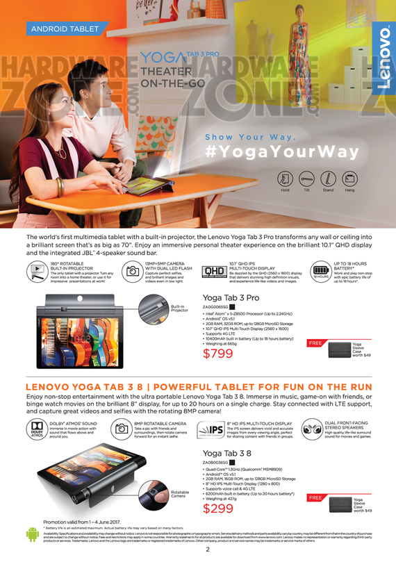 Lenovo Android Tablet - Pg 1