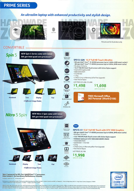 Acer Notebooks - Pg 3
