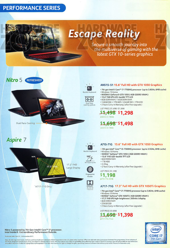 Acer Notebooks - Pg 4