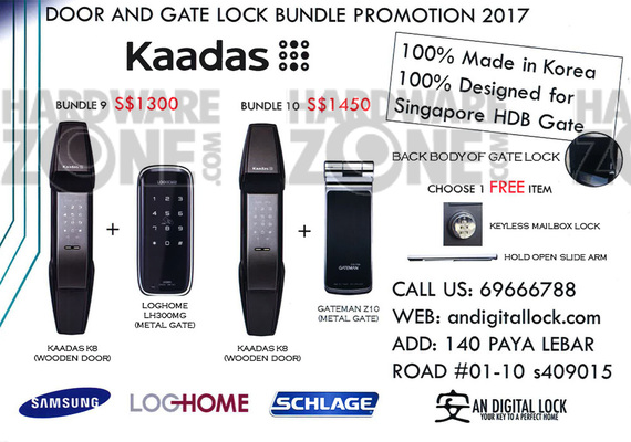 Digital locks - page 3 Brochures from SITEX 2017 Singapore
