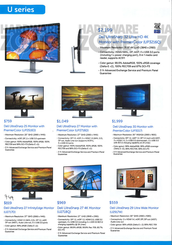 Dell Monitors - Pg 3