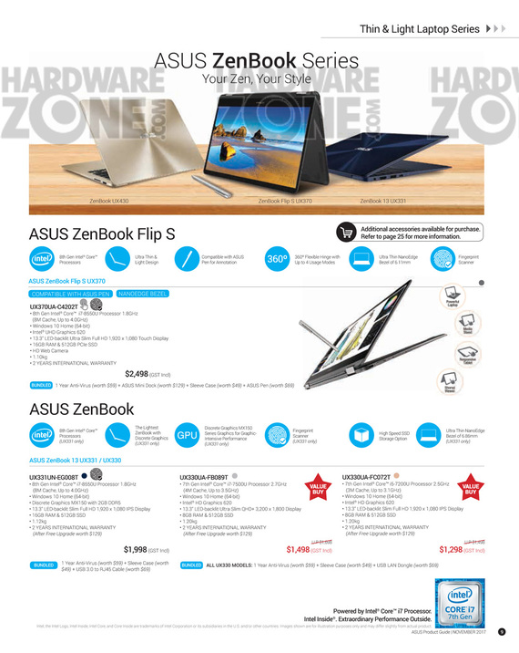 ASUS Nov Product Guide - Pg 09