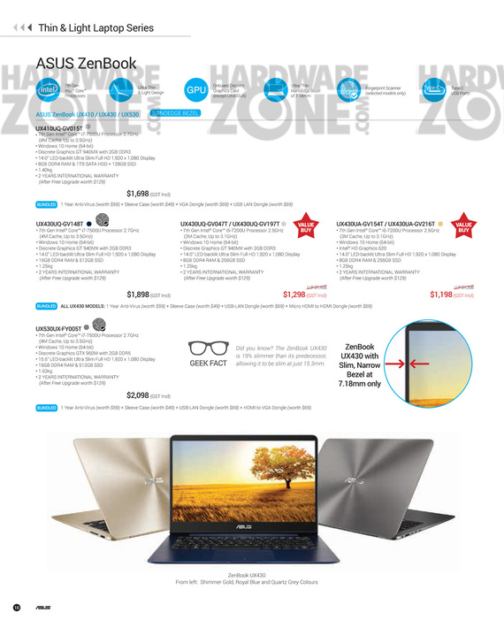 ASUS Nov Product Guide - Pg 10