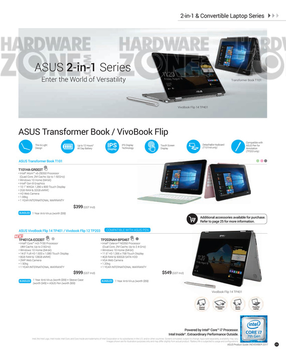 ASUS Nov Product Guide - Pg 11